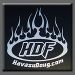 HDF Tribal Sticker